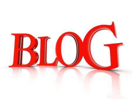 Blog symbol Stock Photo - 15727023