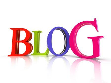 Blog symbol Stock Photo - 15727018