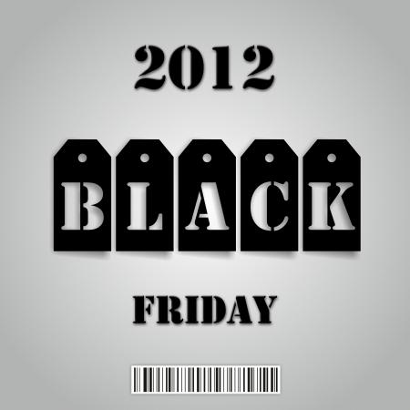 Black Friday 2012 Stock Photo