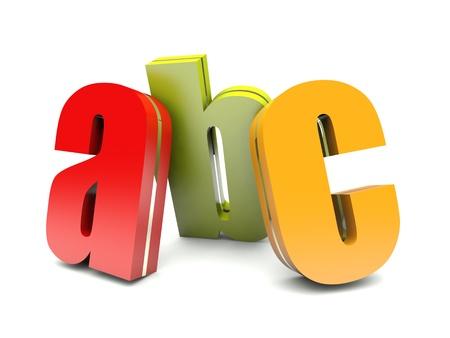 abc colorful letters Imagens - 16007821