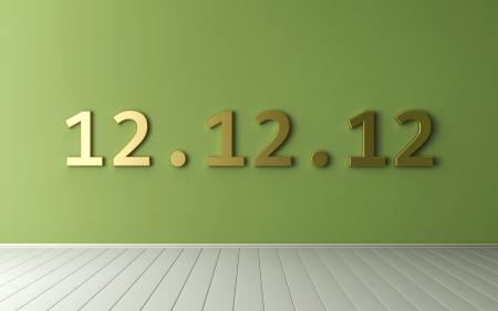 12 12 12 - Unique Day - 12 December 2012