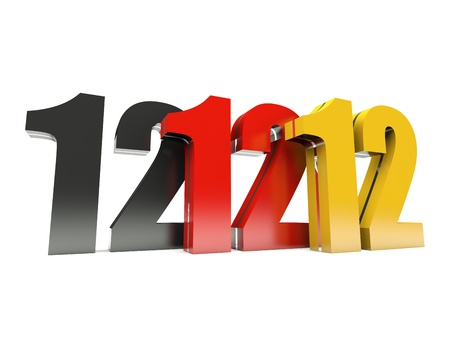 wednesday: 12.12.12 - Unique Day - Wednesday 12 December 2012 in Germany