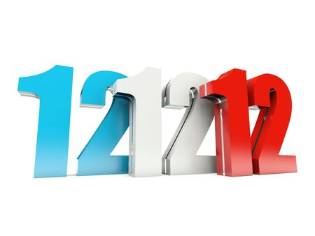 wednesday: 12 12 12 - Special Day - Wednesday 12 December 2012 in France