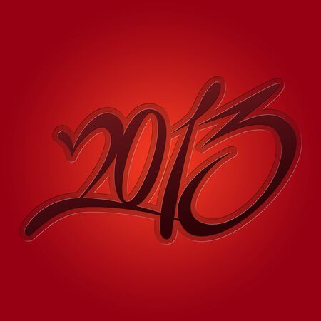 2013 calendar red background photo