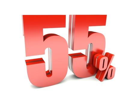 55 Percent off Stock Photo - 17094139