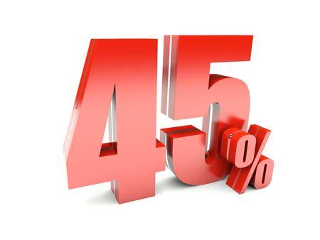 45 Percent off Stock Photo - 17453320