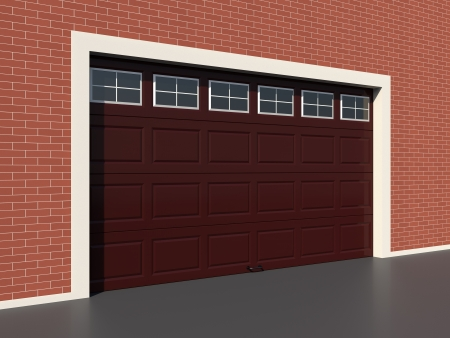 brown garage doors with windows. Modern Brown Garage Door With Windows Photo Doors