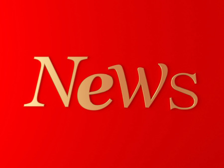 NEWS red background photo