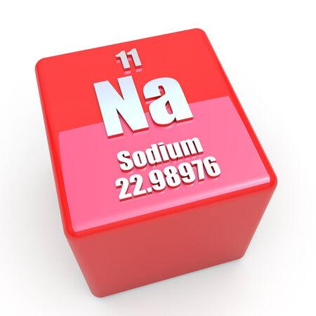 si�o: S�mbolo de s�dio em cubo vermelho brilhante