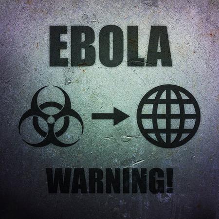 pandemic: Ebola - global pandemic threat Stock Photo