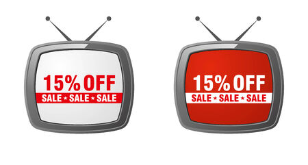 15: TV commercial - 15 percent off sale