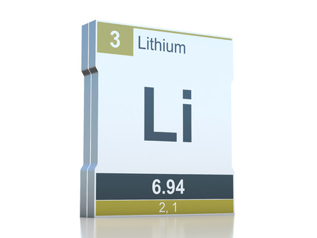 Lithium symbol element from the periodic table stock photo lithium symbol element from the periodic table stock photo picture and royalty free image image 35945483 urtaz Image collections