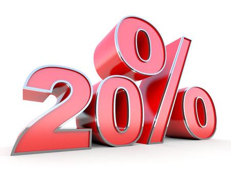 20: 20 percent off
