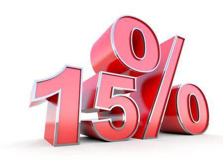 15: 15 percent off