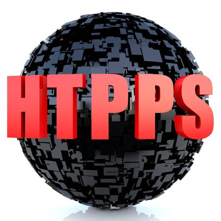 https: HTTPS Secure connection certificate