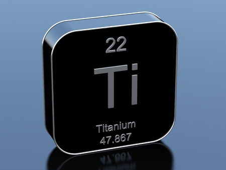 titanium: Titanium Stock Photo