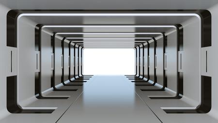 미래의 터널 스톡 콘텐츠 - 50760577