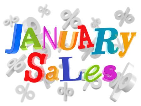 the january: Las ventas de enero los precios bajos