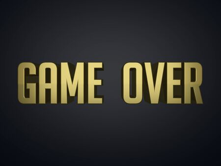 the game is over: Game Over