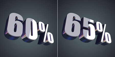 60 65: 65 percent off, 60 percent off, sale, shopping, perspective, business, glossy, finance, discount, promotion, 3d render, shiny, modern, design