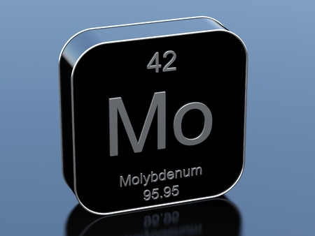 black block: Molybdenum from periodic table