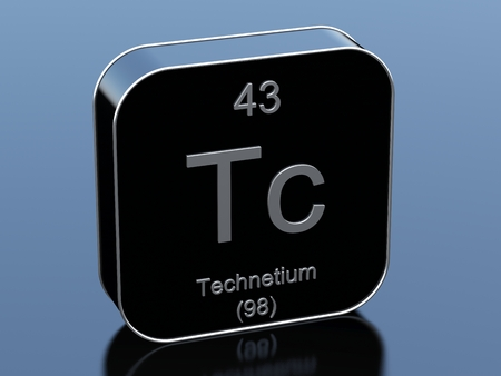 black block: Technetium from periodic table