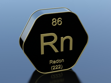 black block: Radon hexagonal black glossy icon
