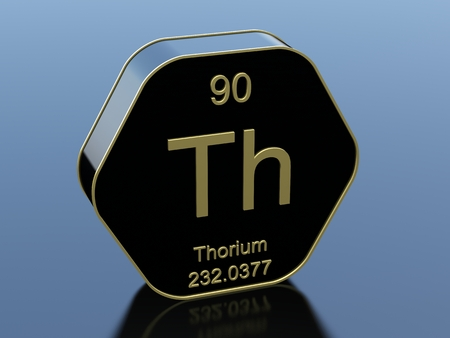 black block: Thorium hexagonal black glossy icon