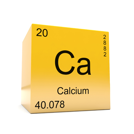Calcium Chemical Element Symbol From The Periodic Table Displayed