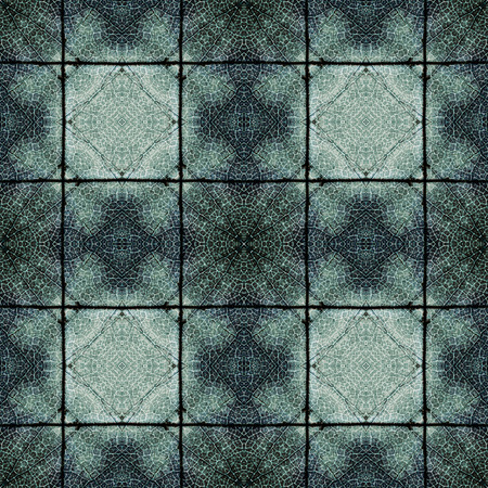 Complex symmetrical seamless organic pattern Imagens