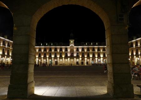Plaza Mayor de Ocaña en Toledo