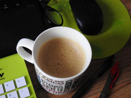Een pauze voor koffie