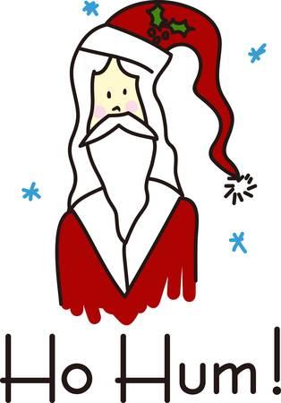 ho: Here is Santa Wishing You A Merry Christmas Ho Ho Ho