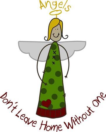 archangel: Sweet stick angels add holiday happiness for your dcor. We love this cute angel with her rustic country flair.