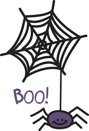 goblins: Our little spider has been toiling to create this magnificent web.  All ready to create special Halloween delights for your little goblins.