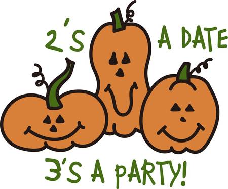 date fruit: Smiling jack o lanterns create this most special Halloween motif.  Add them to create the most happy of Halloween decorations.