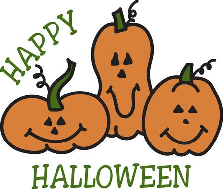 jack o: Smiling jack o lanterns create this most special Halloween motif.  Add them to create the most happy of Halloween decorations.