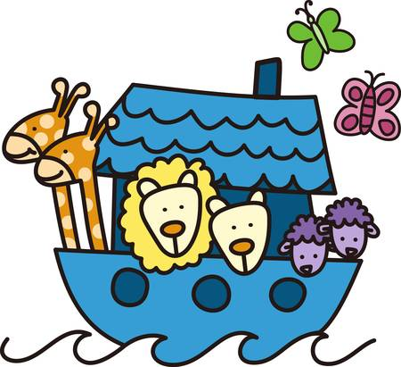 Mom to be are so excited and love holding a new baby and play with as they grow.  Include this adorable Noahs ark gift for her at the baby shower.  She will love it for the nursery