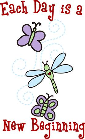 propelled: Butterflies are self propelled flowers. Illustration