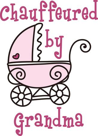 perambulator: This cute design of a stroller is perfect to add to the perfect gift for babys nursery.  Mom and dad will love it