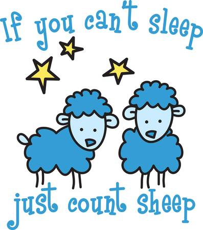 dreamland: Counting sheep help you sleep.  Send your little one to dreamland with these cute sheep.  Perfect for the nursery