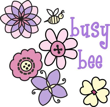 Give this cute design to the busy bee you know.  She will love it
