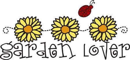 lady bug: G�nsebl�mchen und eine Dame Bug stellen die nettesten Kombination. Es ist absolut eine perfekte Weise, Fr�hling zu Ihren Projekten hinzuf�gen und vermitteln eine besondere Botschaft. Illustration