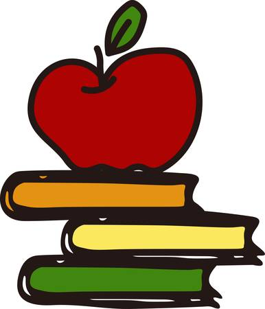 Through these books we can go anywhere our imagination leads.  What a fitting design for your favorite teacher.