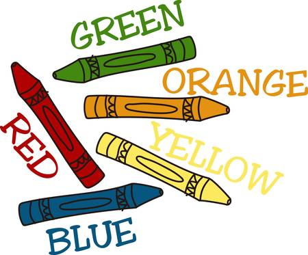 Add some color to your projects with our colorful crayons  These are a great way to add some creative character to school bags art smocks or even to make a super special shirt