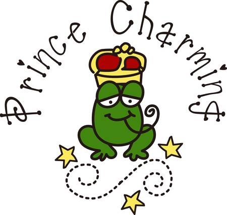 nobility: Is this the frog that turns into a prince charming  Surely it will turn your bags hats or shirts into their most charming