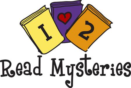Encourage a love for reading. This cute design looks great on school shirts and library dcor.  What about a flag for the school library