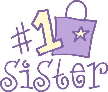彼女があなたのリストにこの番号は 1 を立ってあなたのお母さんを表示デザインは、あなたの愛情のかわいいとビジュアル アラーム