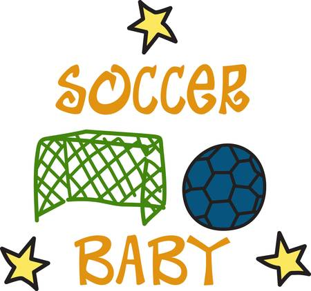 Soccer mom soccer star  This design is a perfect choice for you  This little drawing style design is just perfect for players and moms clothes or use it on a sports bag and add a name with our instant lettering.