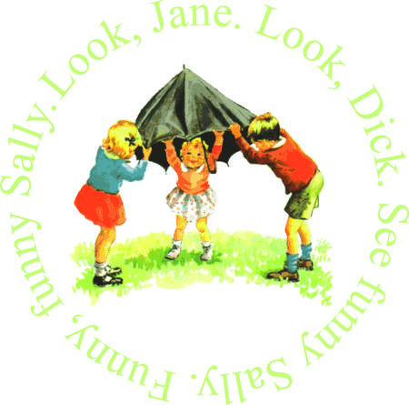 jane: The learn to read classic tales of Dick and Jane come to life in realistic watercolor.  The children of days gone by bring their special charm to your project. Illustration